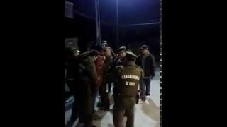 """Supuesta """"fuerza desmedida"""" en Carabineros de #Panguipulli"""
