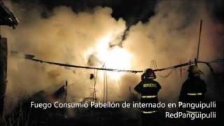 Incendio en Pabellón de Internado Femenino en Liceo Padre Sigisfredo