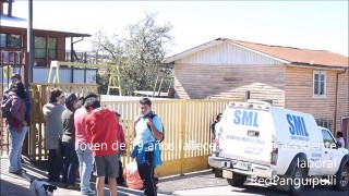 Joven ayudante muere tras ser aplastado en taller mecánico de #Panguipulli.