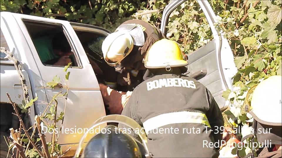 RedTV | Dos lesionados tras accidente en sector aeródromo