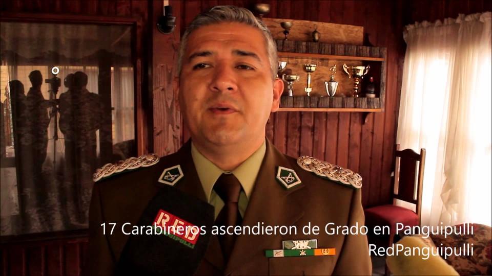 RedTv | 17 Carabineros ascendieron de grado en 5ta Comisaría de Panguipulli
