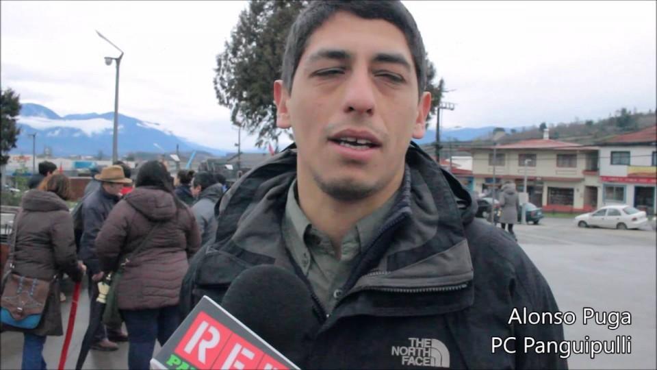 """RedTv: Marcha """"NO + AFP"""" recorrió calles de Panguipulli este domingo"""