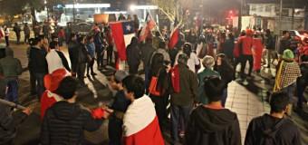 FOTOS-Tras el paso de Chile a la Gran Final de la Copa América, Marea Roja también llegó a Panguipulli