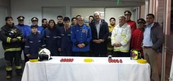 Beneficio Municipal permitirá a bomberos acondicionarse físicamente en el Polideportivo