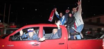 Video-Así celebraron en Coñaripe el histórico triunfo de Chile en la Copa América