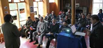 Panguipulli es la primera comuna de la provincia en validar su diagnóstico local de seguridad pública