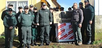 Gendarmería regional visitó a Don Óscar. Oscarito habló con RedPanguipulli