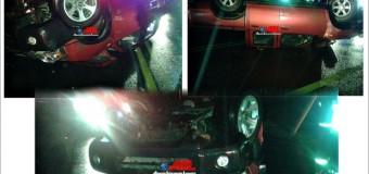 Accidente en sector Badén dejó a conductor con lesiones de carácter reservado