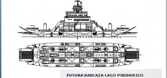 Así avanza el proyecto para construir la nueva barcaza en Pirehueico