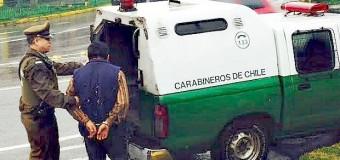 En Pullinque | Sujeto fue detenido luego de golpear y robarle dinero y dos celulares a un adulto mayor