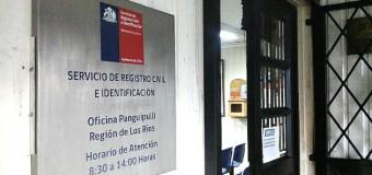 Se mantiene turno ético | Registro civil local se adhiere a paro nacional de 24 horas