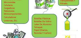Este martes comienza la II versión de la Feria de Reciclaje. Entérate!!