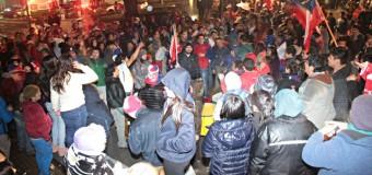 Imágenes- Chile Campeón de América!! Así celebró la Marea Roja en Panguipulli
