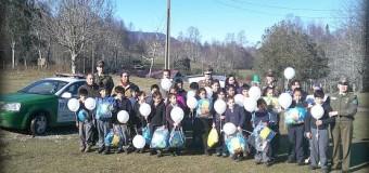 FOTOS – Carabineros celebra a Niños de la Escuela Cerro Pitrén