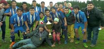 Club Deportivo Riñimapu se coronó Campeón Regional de Anfur 2015