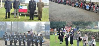FOTOS | Establecimientos conmemoran natalicio de Bernardo O'Higgins