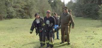 Tras 6 días de trabajo, encuentran y rescatan el cuerpo de joven víctima en Río Llancahue