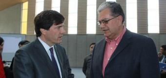 Edil Aravena solicitó al Ministro de Transportes y Telecom. conexión digital y transporte para establecimientos educacionales de la comuna