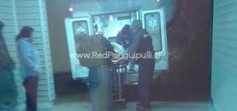 Con lesiones de carácter reservado resultó un hombre de 61 años tras ser atropellado en Neltume, dos veces