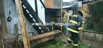 Sin daños mayores termina principio de incendio en céntrico hospedaje