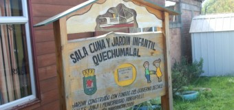 Proyecto de ampliación de Sala Cuna Quechumalal quedará para el próximo año