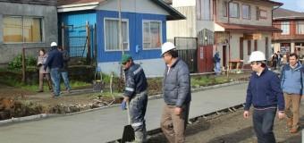 Alcalde Aravena destaca obras de mejoramiento en calles de la ciudad