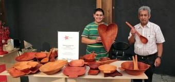 Maestro Artesano de Liquiñe exhibirá sus piezas en festival ecuatoriano