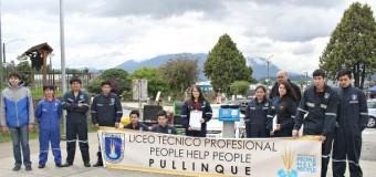 Teletón | Alumnos del Liceo PHP Pullinque realizan clínica mecánica durante el día