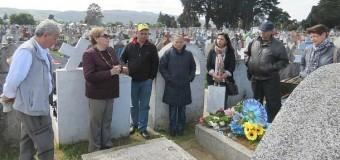 En el cementerio de Valdivia efectúaron última exhumación por caso Neltume