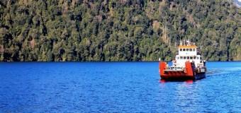 Aumentan frecuencia de recorridos Barcaza Hua-Hum en Lago Pirehueico