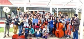 Orquesta Sinfónica Juvenil de la Región de los Ríos se presentará en Panguipulli