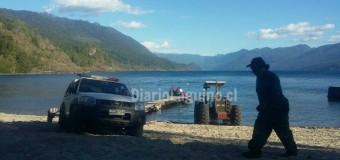 Tragedia en Lago Riñihue. Bote zozobró con 12 personas a bordo