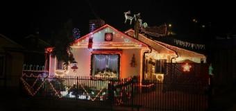 La llamativa decoración navideña que roba miradas en la ciudad