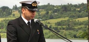 """Tte. Dimter entregó el mando en Capitanía de Puerto Local  """"Fueron dos años hermosos"""""""