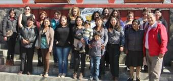 Mujeres Jefas de Hogar reciben aportes para mejorar emprendimientos