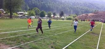"""Unos 250 estudiantes participaron de los """"Juegos Cordilleranos"""" este año"""