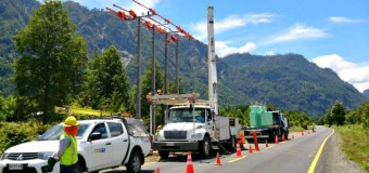 Saesa invirtió $210 millones para mejorar el servicio eléctrico entre Pullinque y Coñaripe