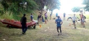 Campamento de Remo inició por una semana en Lago Panguipulli