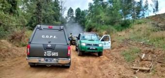 Ataque en Fundo Los Suárez de Lanco deja 2 Carabineros heridos, maquinaria y vehículos incendiados