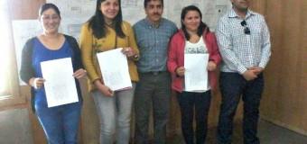 Traspasan terrenos al Serviu para comités de Neltume. Dirigente agradece gestión de Alcalde Aravena