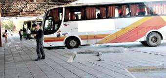 """Habilitaron 80% de losa en Terminal de buses. Alcalde cuestionó """"conocimiento"""" de la Seremi de Transportes"""