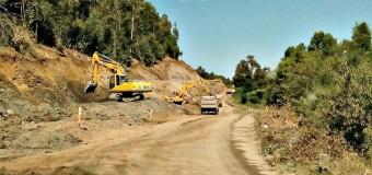 Amplían obras en pavimentación ruta Coñaripe-Panguipulli. Trabajos culminarían en abril de 2017
