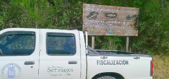 Infraccionan a pescadores por no respetar norma de protección en Río Fuy