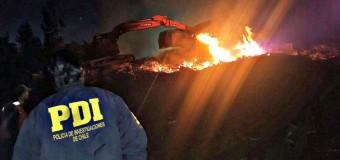 Camionero relata los momentos durante el ataque incendiario a Fundo de Forestal Mininco en Lanco