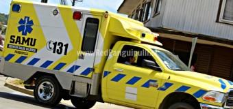 Menor de 14 años fue atropellado en sector Carririñe durante la noche