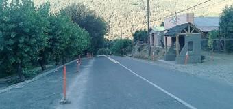 Proyecto de nuevas veredas destaca entre avances para el pueblo de Liquiñe