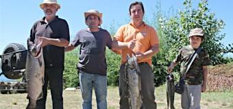 """21 Fanáticos llegaron al 7° Campeonato de Pesca """"Semana de Las Rosas"""""""