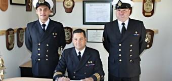 Teniente Ortíz asumió como nuevo Capitán de Puerto de los Siete Lagos