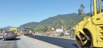 Invierno obliga a realizar asfaltado de ruta Punahue a Puerto Fuy en dos etapas