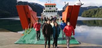 Construcción de segunda barcaza en Lago Pirehueico iniciaría en Mayo
